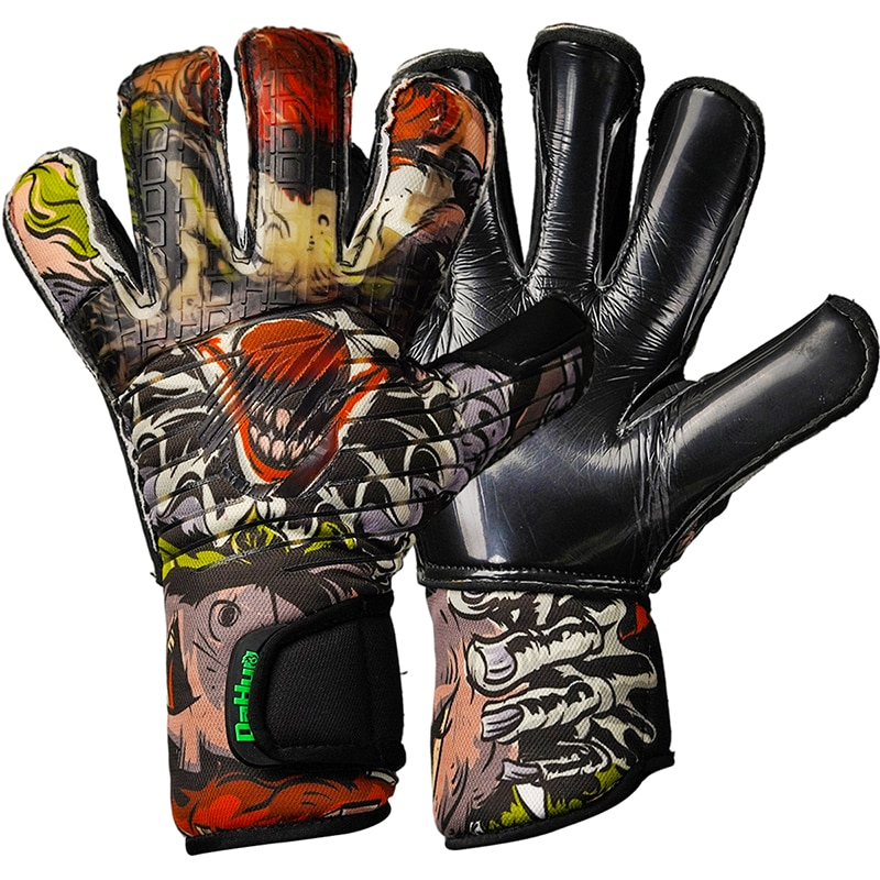 Luxury Creative Football Goalkeeper Gloves Non-Slip Thick Latex Professional Goalkeeper Gloves Children Aldult Halloween Gift