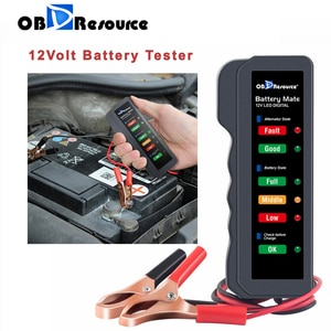 Image 5 - Цифровой анализатор напряжения BM310, тестер для аккумуляторов 12 В, светодиодный индикатор для мотоциклов, проверка напряжения автомобильного генератора переменного тока