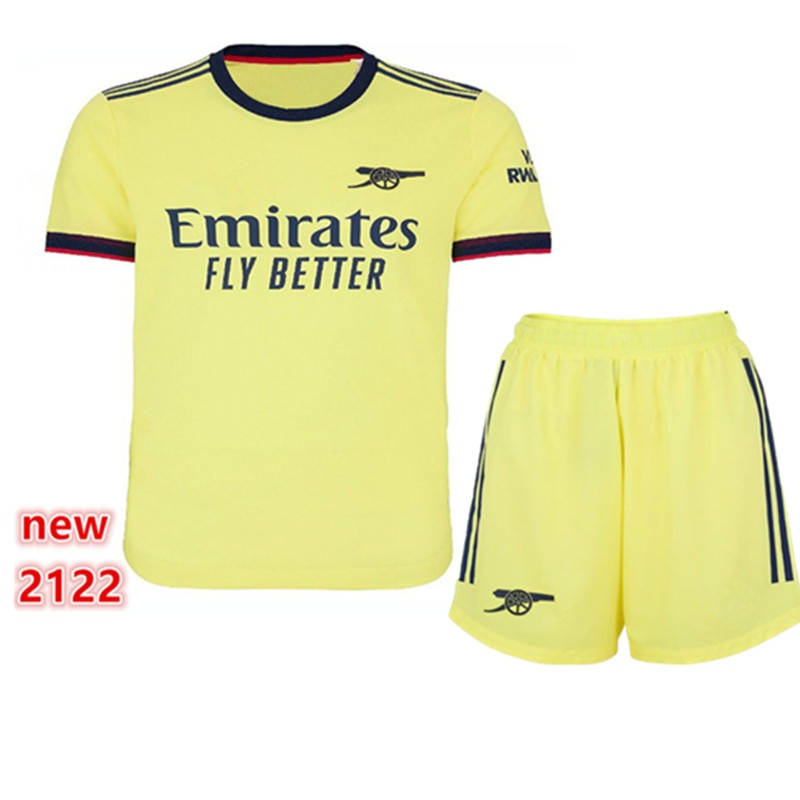 Top Quality adults kit kids kit SAKS LACAZETTE PEPE Odegaard child shirt XHAKA AUBAMEYANG BELLERIN new 21 22 ArsenalES shirt