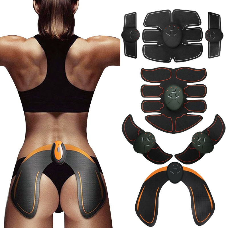 Wireless Smart Muscle Stimulator Abdominal Trainer Hip Trainer Buttocks Butt Lifting Slimming Massager Body Shaping Unisex