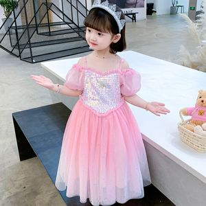 Dress 2021 For Girl Wedding Dress prom  Kids Clothes Princess Girls Children Summer Holiday Evening Dresses Princess Party
