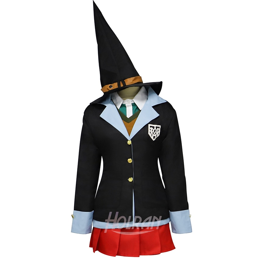 Disfraz de Anime Danganronpa V3 Killing Harmony cosplay yumen Himiko, camiseta, chaleco, abrigo, traje de uniforme de mago