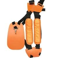adjustable padded shoulder harness strap safety and comfort garden brush cutter trimmer strimmer garden tool