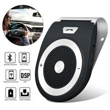 Kit de Mini voiture Bluetooth T821 mains libres   Support de téléphone, Bluetooth 4.1 EDR, Kit de voiture sans fil, Mini visière peut mains libres appels