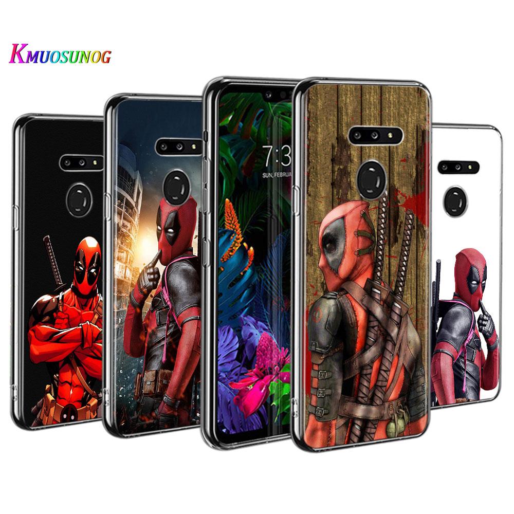 Deadpool Fashion Style for LG W30 W10 V50S V50 V40 V30 K50S K40S K30 K20 Q60 Q8 Q7 Q6 G8 G7 G6 ThinQ Phone Case