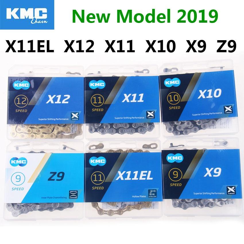 KMC велосипедная цепь 118L X11EL X12 X11 X10 X9 Z9 велосипедная цепь 10 скоростной дорожный MTB коленчатый набор 8 9 10 11 12s Derailleur Лидер продаж 2020