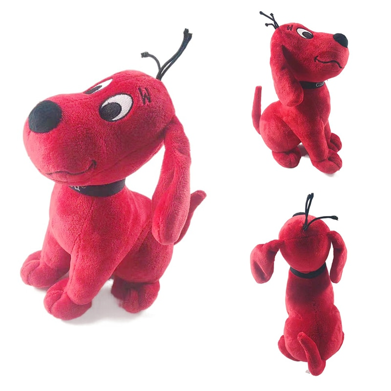 20 см мультфильм аниме Clifford большая красная собака плюшевые игрушки Kawaii Clifford мягкие набивные животные куклы игрушки Дети Рождество подарок ...