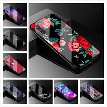 Pour Xiao mi mi A3 étui en verre trempé housse de téléphone pour Xiao mi CC9e CC9 9 9se 9t pro Pocophone F1 8 Lite pare-chocs souple mi a3 mi 9 SE