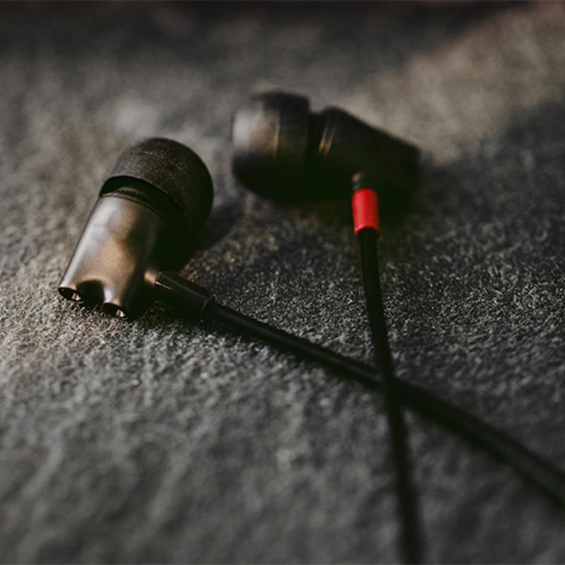 IE800s earphone into the ear DIY original HiFi listening noise reduction strongest earphone earplugs(sound reduction 98 %) enlarge