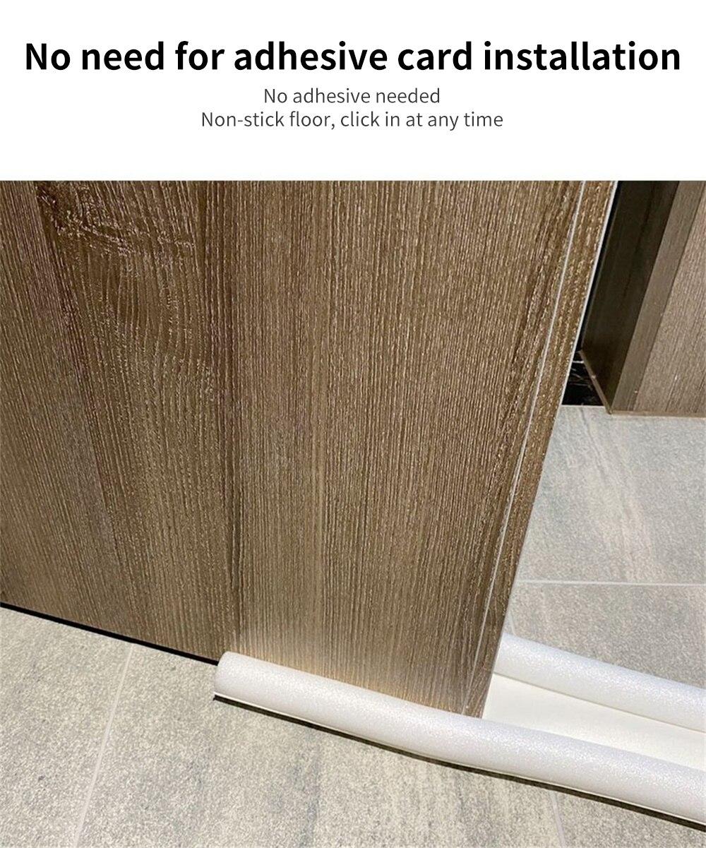 Защита для нижней двери, звукостойкая уплотнительная лента для нижней двери, уплотнительная лента для нижней двери под дверью