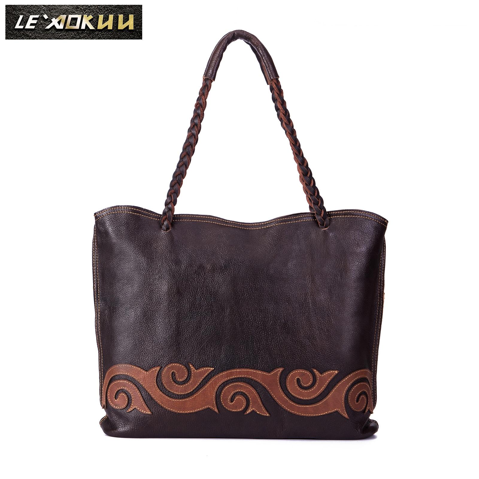 Soft Quality Leather Famous Brand Luxury Ladies Large Shopping handbag Shoulder bag Women Designer f