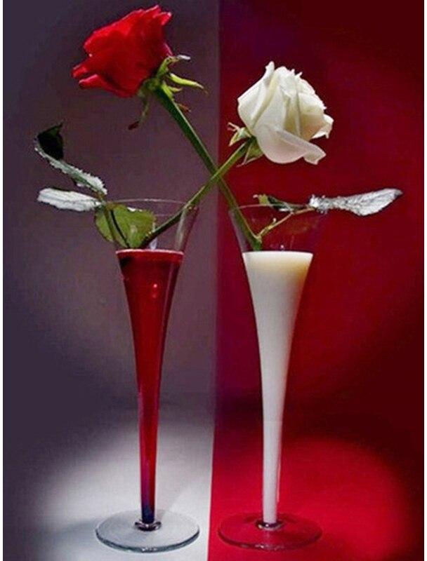 JMINE Div 5D, rosa roja, vino, pintura completa de diamantes, kits de Arte de punto de cruz, Pintura Artística 3D de alta calidad con diamantes