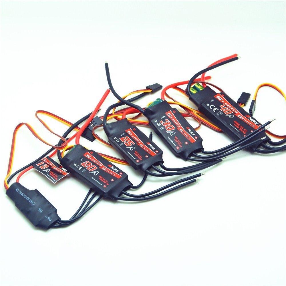 Emax – drone télécommandé Simon série 12A 20A 25A 30A 40A, pour quadrirotor QAV250, pour DJI F450 F500 F550 RC