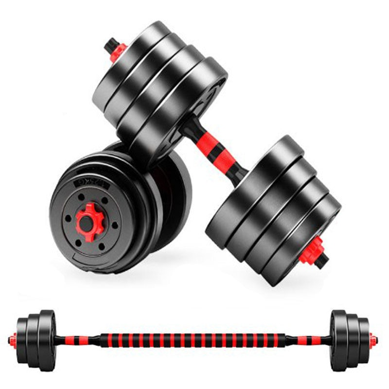 Peso haltere conjunto halteres de fitness destacável haltere braço muscular trainer exercício doméstico para o corpo treino