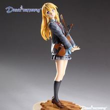anime action figure your lie in april kaori miyazono cartoon doll PVC 20cm box-packed japanese figurine world 20 cm