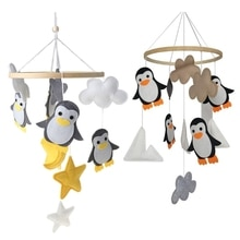 Baby Rattles Mobile Toys Crib Toy Bed Hanging Newborn Kids Room Decoration
