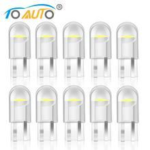 10 Uds LED para coche T10 W5W WY5W 168 194 501 bombillas LED para Auto luces interiores mapa Domo puerta maletero instrumento lámpara 12V