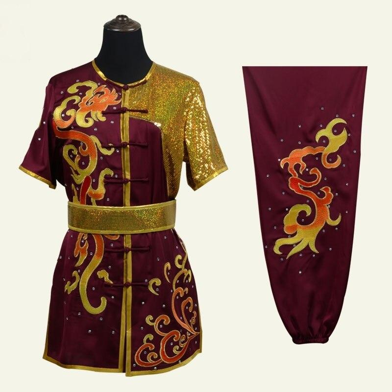 Ropa Wushu uniforme de artes marciales bordado Wing Chun uniforme de Kung Fu Wushu personal Shaolin Kung Fu uniforme TA1891