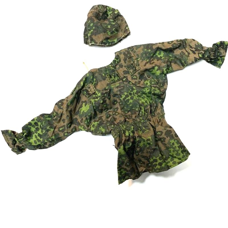 """Novo 1/6 escala acessórios roupas floresta verde camo soldado uniformes definir para 12 """"figura de ação militar"""