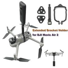 Support de support étendu pour DJI Mavic Air 2 accessoires adaptateur de montage supérieur/inférieur pour caméra panoramique 360 VR pour GoPro8 Osmo