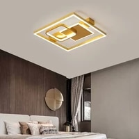 modern creative luster square led ceiling light for bedroom hall restaurant kitchen corridor nordic home interior luminaires