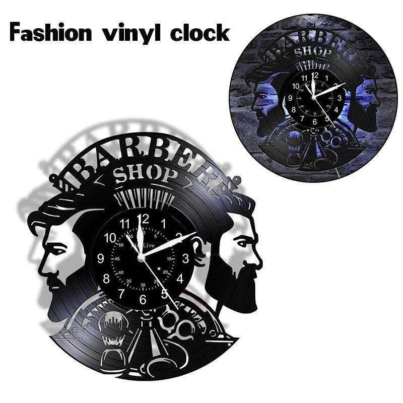 Reloj De Pared De vinilo con diseño moderno, decoración De adornos colgantes para salón