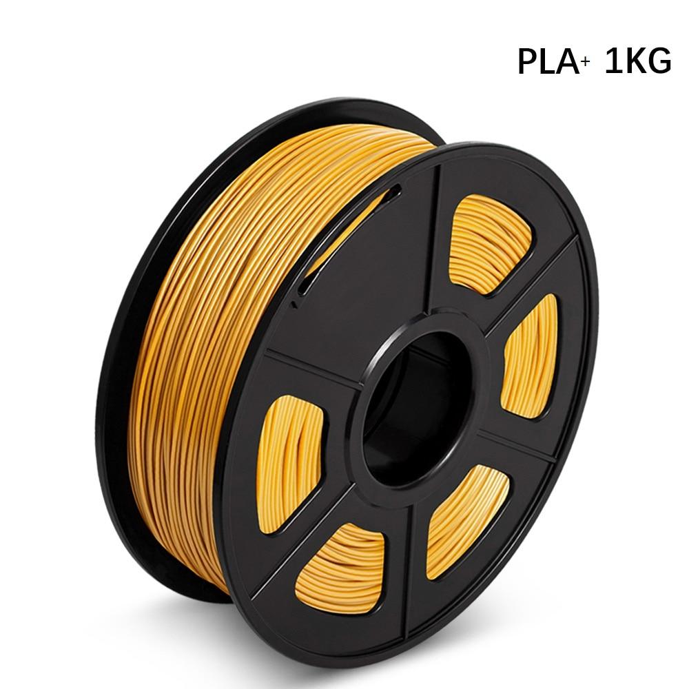 Filamento de impresora 3D 1kg PLA Plus 1,75mm alta dureza PLA + filamentos precisión dimensión +/-0,02mm Material de impresión no tóxico