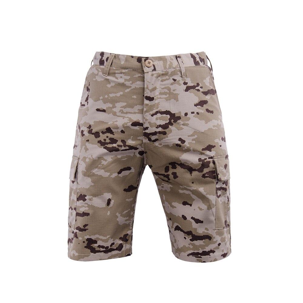 Шорты-карго мужские хлопковые, брендовые Короткие штаны в стиле милитари, повседневные пляжные, однотонные, черные, лето 2021