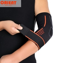 2021 Brand Bandage Elbow Pad Protect Support Knee Sleeve 1 Pcs Adjustable Sports Outdoor Cycling Gym