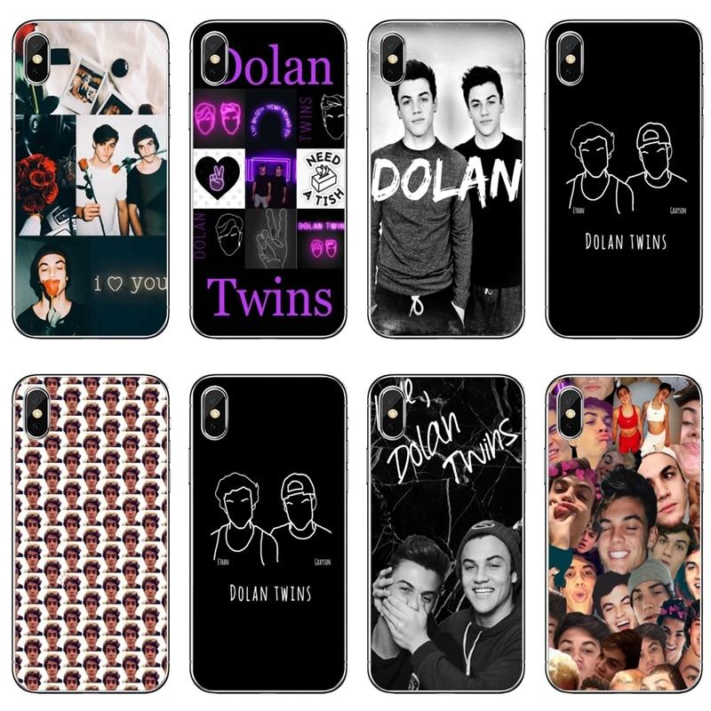 Mellizos Dolan Ethan Dolan Grayson accesorios de la cubierta del teléfono para Apple iPhone 11 Pro XS Max XR 8X8 7 6 6S Plus 5 5S SE