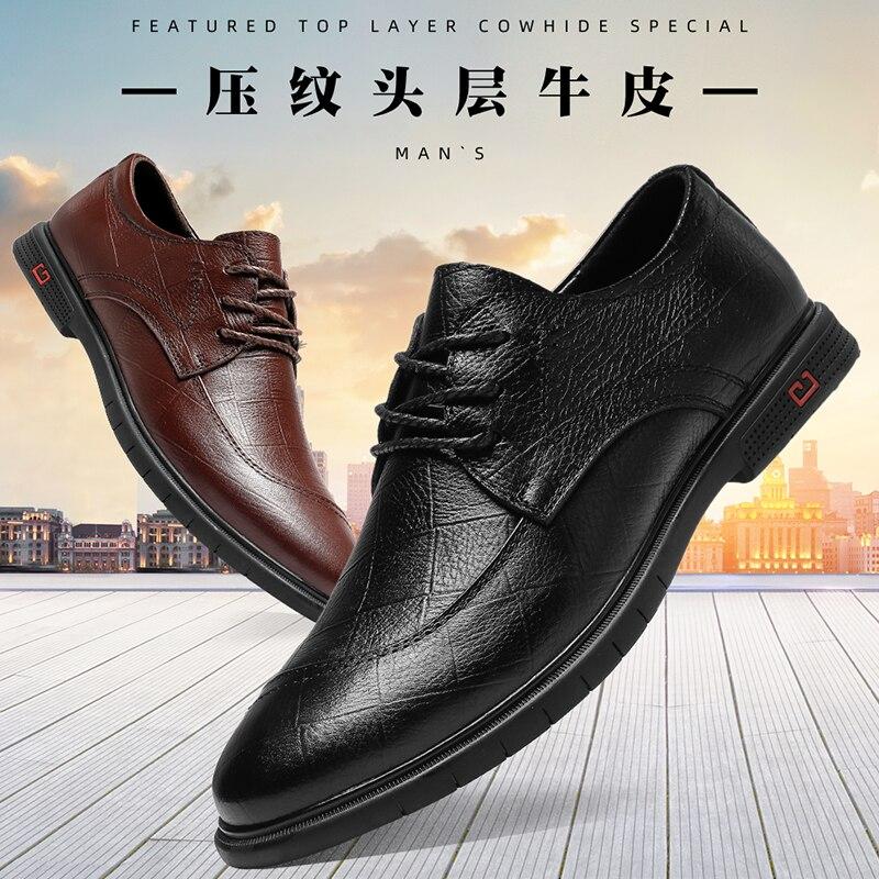 Zapatos de cuero de vaca para hombre, zapatos de charol, mocasines de...