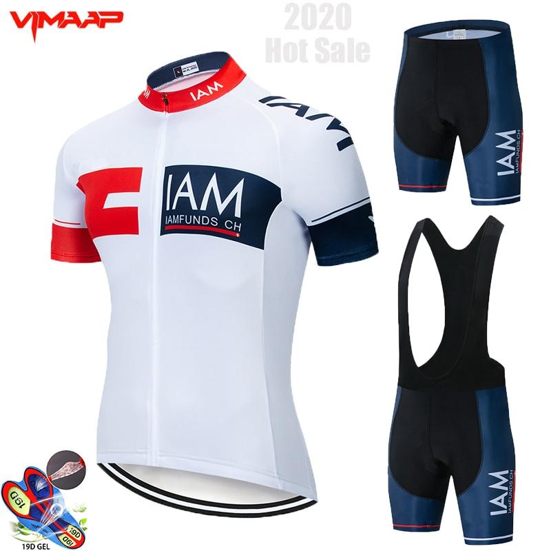 2020 Nuevo rojo STRAVA profesional bicicleta equipo manga corta Maillot Ciclismo hombres...