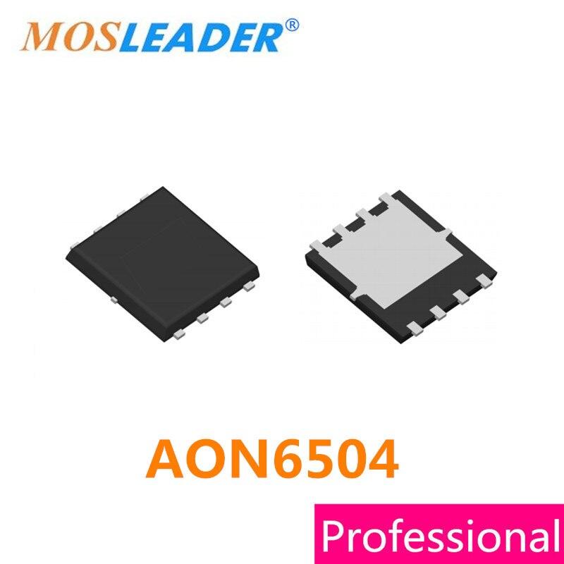 Mosleader AON6504 DFN5X6 100 قطعة 30V 85A 2.1mR عالية الجودة QFN8 Mosfets