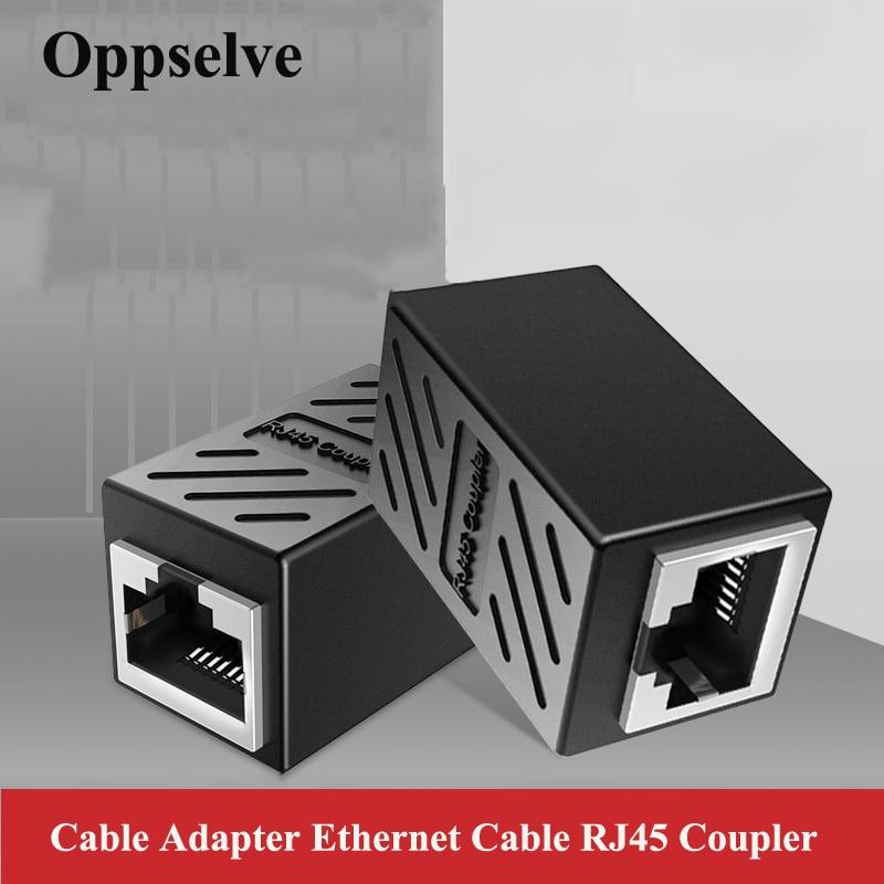 Conector hembra a hembra RJ45, Cable Ethernet Cat7/Cat6/5e, adaptador LAN de red,...
