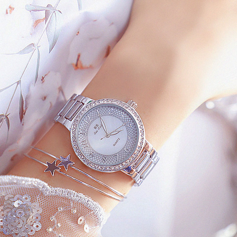 Watches for Women Fashion Arabic Digital Dial Waterproof Stainless Steel Quartz Watches Relogio Feminino Christmas Gift Clock enlarge