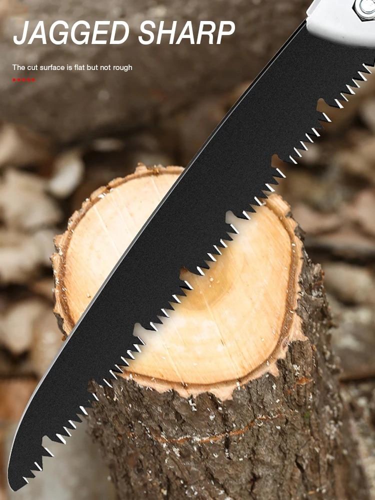 Kokkupandav saag raskeveokite eriti pika teraga käsisaag puidust - Aiatööriistad - Foto 5