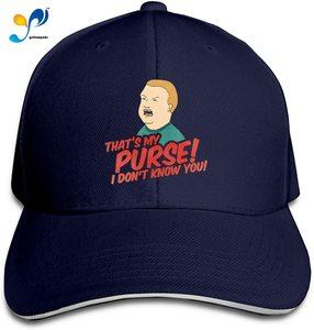 King Cap of The Hill Headdress Sandwich Hat Unisex Vogue Sunhat Adjustable Baseball Cap
