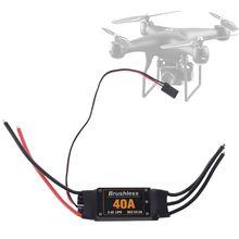 C5AA 40A Brushless ESC Drone Airplanes Parts Components Accessories Speed Controller Motor RC Toys F