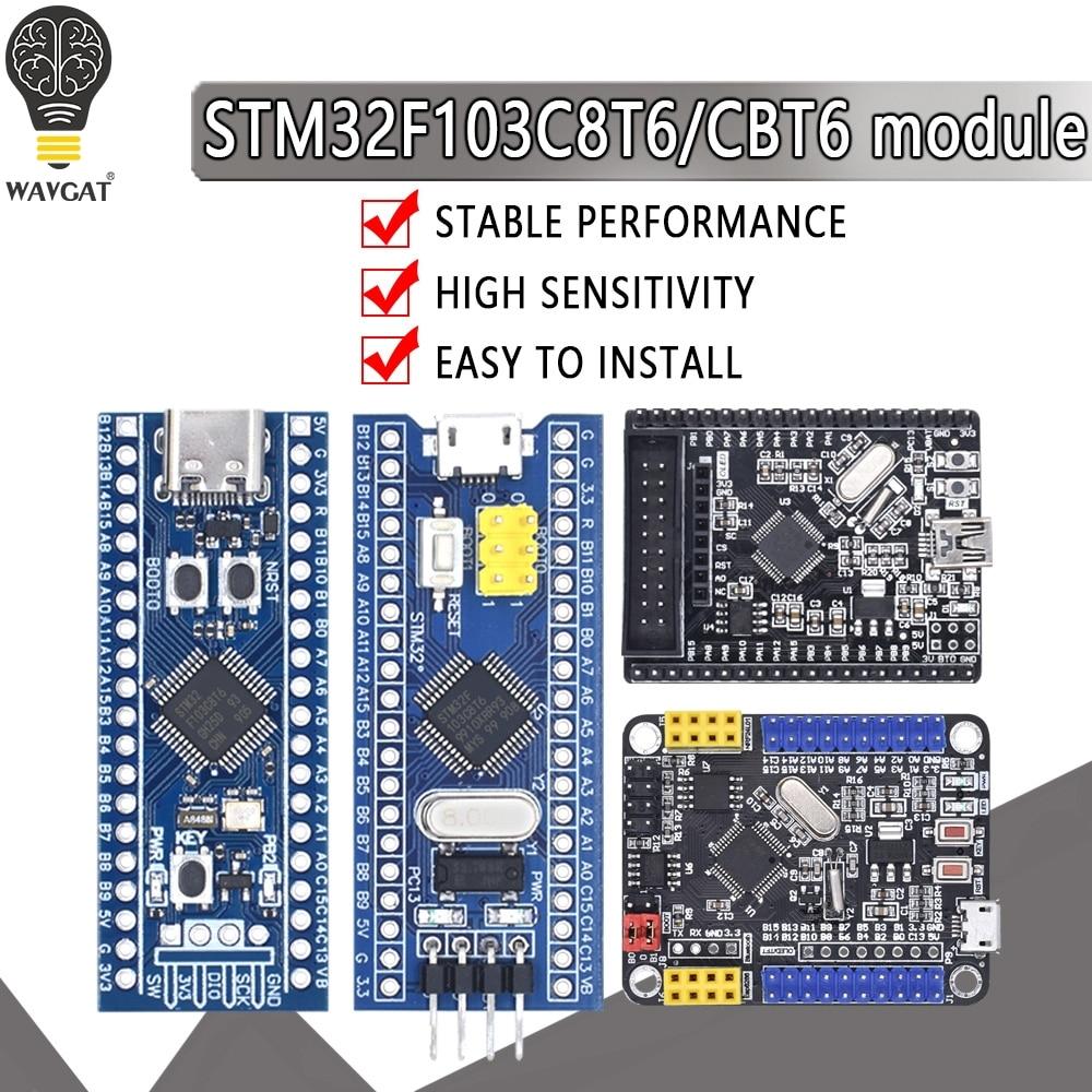 STM32F103C8T6 STM32F103CBT6 ARM STM32 Minimum System Learning Development Board Module For Arduino 32F103C8T6