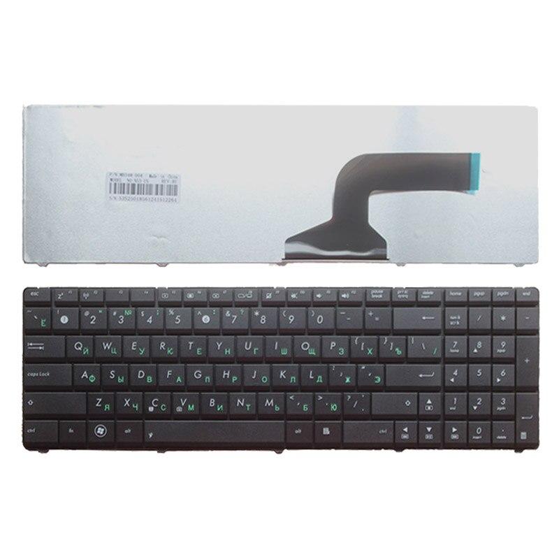 Русская клавиатура для ноутбука ASUS N70 N70S N73 N73J N73 JF N73 jg N73 JN N73 JQ N73 SM N73 SV N51T N53SV N51V N53JQ N53S N53NB RU, Черная