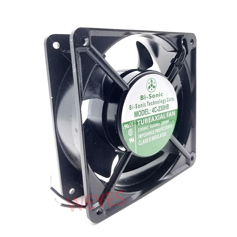 Nuevo para BI-SONIC 12038, AC230V, IP55, impermeable, resistente a altas temperaturas, ventilador de refrigeración 4C-230HB