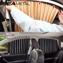 Солнцезащитный козырек для боковых окон автомобиля, защита от УФ излучения, летний козырек от солнца, автомобильные аксессуары
