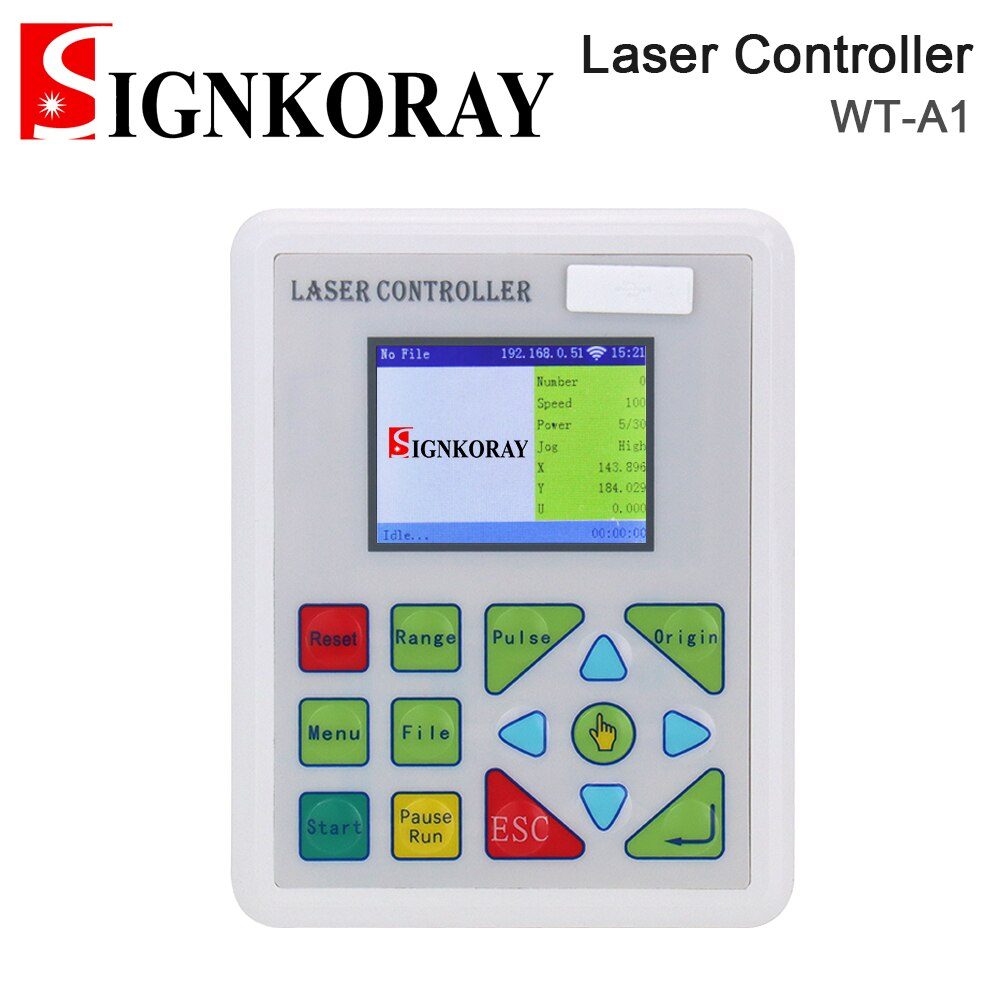 SIGNKORAY Co2 Laser Controller System for Engraving Cutting Machine K40 3020 6040 Replace ruida Leetro Trocen