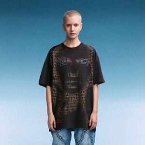 2021 Summer Woman Tshirts Men Short Sleeve Alternative Clothing Oversize Hiphop Harajuku goth Top Streetwear Tees