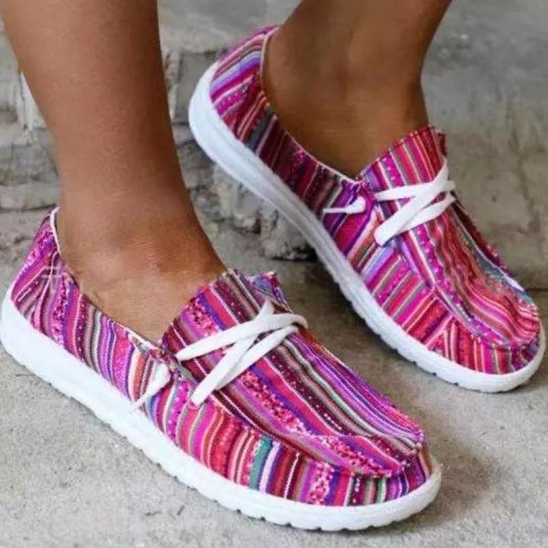 2021 Summer New Women's Comfort Flat Heel Soft Sole Design and Color Lok Fu Shoes Fashion Versatile