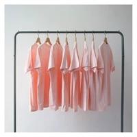 100 cotton basic shirts o neck short sleeve couples t shirt harajuku casual tops for women summer tees