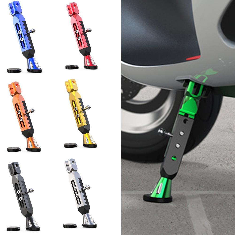 Good Quality Side Kickstand Adjustable Anti-skid Bottom Aluminum Alloy Side Parking Foot Support Eas
