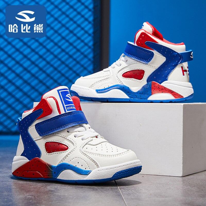 حذاء للأطفال 2021 خريف جديد كرة سلة للشباب أحذية رجالية وكبار السن للأطفال حذاء كاجوال أحذية رياضية