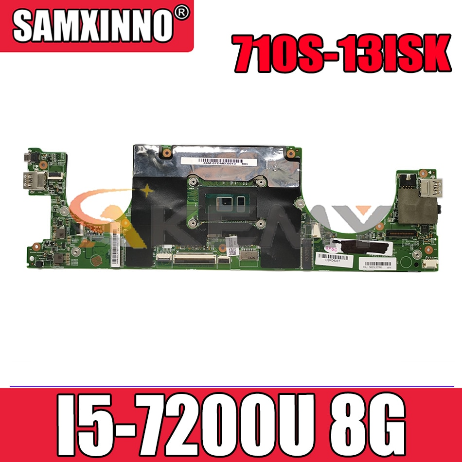 Akemy لينوفو IdeaPad Air13 برو 710S-13ISK اللوحة المحمول CPU I5 7200U 8G 448.07D05.0011 100% اختبار OK