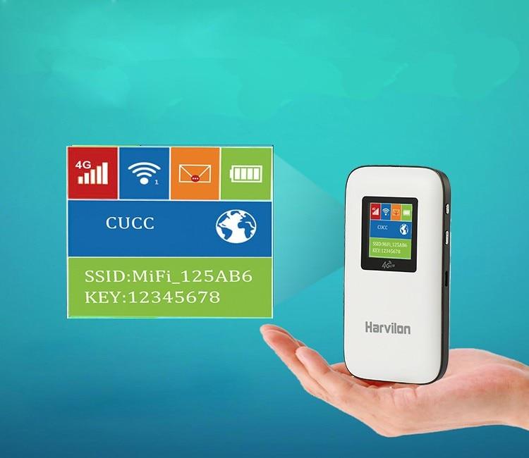 Лот из 3000 шт. LTE FDD B1 B3 B7 B20 4G модем Wi-Fi Открытый 4G 3g беспроводной lte-роутер с сим-картой